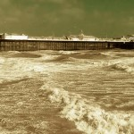We're in very windy Brighton on the south coast of England for The Great Escape Festival. No paddling this year!
